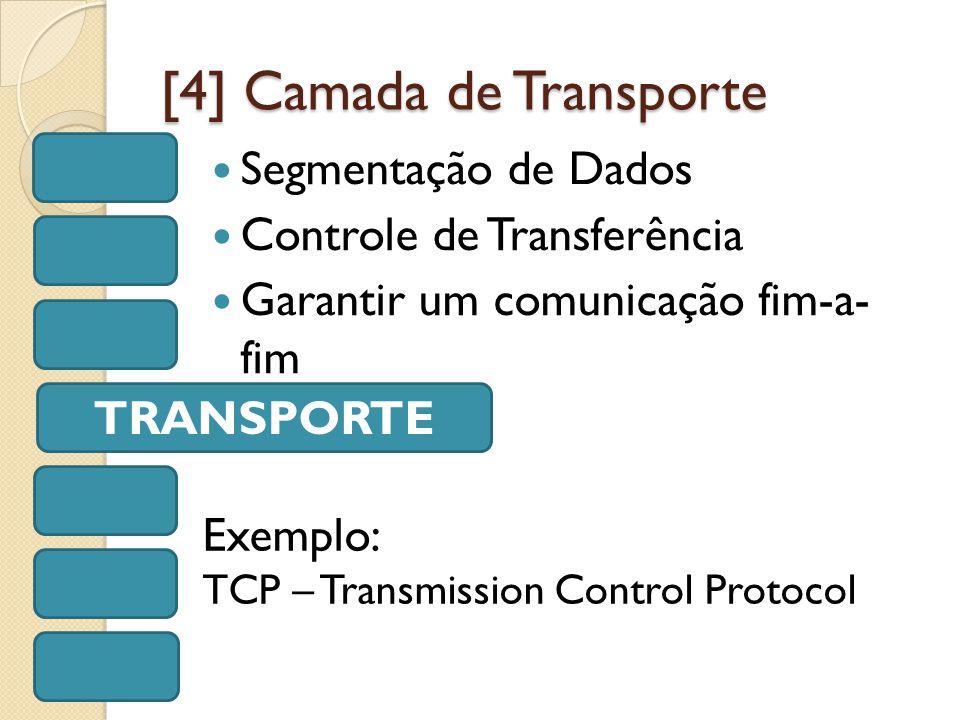 [4] Camada de Transporte